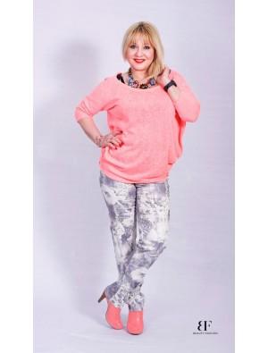 Bluza crosetata, pink
