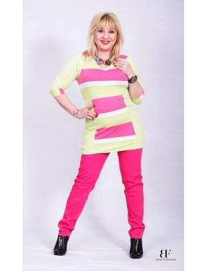 Pantaloni pink